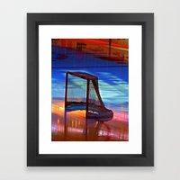 Empty Net Framed Art Print