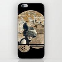 Moon Maiden iPhone & iPod Skin