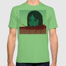The Sinking Ship IS My Lifeboat. Mens Fitted Tee Grass SMALL