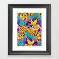Jungle Fever Framed Art Print
