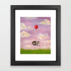 Balloon Ride - Guinea Pi… Framed Art Print
