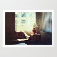 l'hotel Art Print