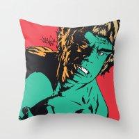 See Me Angry Throw Pillow