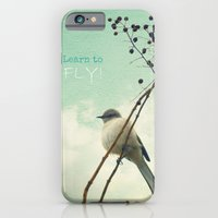 iPhone & iPod Case featuring Learn to Fly! by RDelean