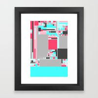 Red Mint Framed Art Print