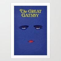 Great Gatsby Poster Art Print