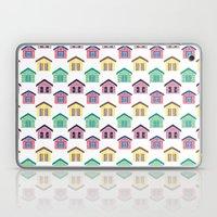The Colorful Beach House… Laptop & iPad Skin