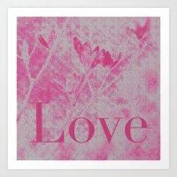 Love Me! Art Print