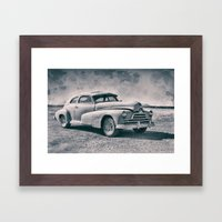Pontiac At Sonoita Framed Art Print