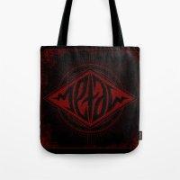 Metal Ambigram Tote Bag