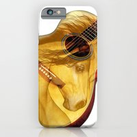 The guitar is a lady iPhone 6 Slim Case