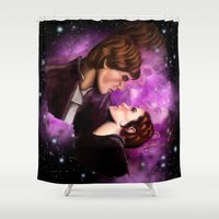 Star Wars, Han & Leia The Empire Strikes Back Shower Curtain