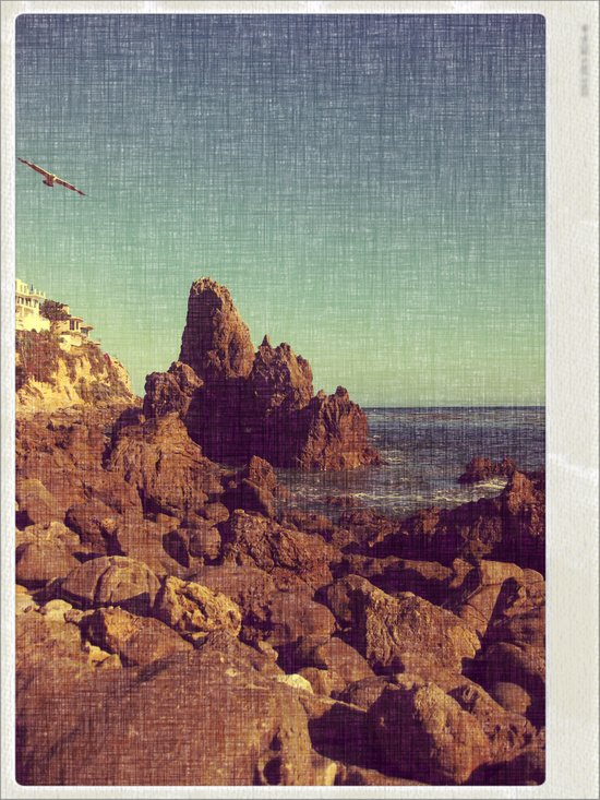 California Sealine Art Print