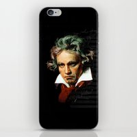 Beethoven - Music Demon iPhone & iPod Skin