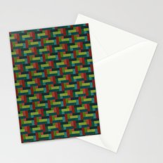 Woven Pixels IV Stationery Cards