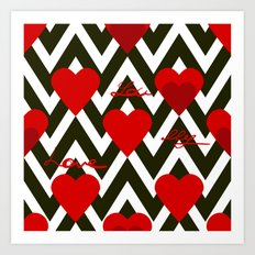 With love. Art Print