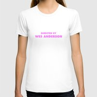 wes anderson T-shirts featuring Directed By Wes Anderson by FunnyFaceArt