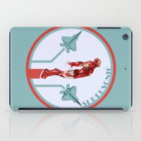 Iron Man And F22 Raptor  iPad Case