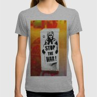 T-shirt featuring STOP THE WAR !! by Die Farbenfluesterin