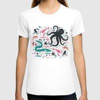 sea T-shirts featuring Sea Patrol by Anna Deegan