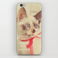 Angels with Whiskers iPhone & iPod Skin