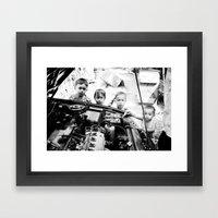 Our Gang Framed Art Print
