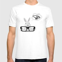 I Want To Be A Doctor Mens Fitted Tee White SMALL