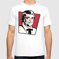 Colonel George Mens Fitted Tee White SMALL