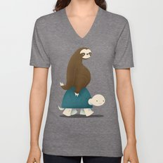 Slow Ride Unisex V-Neck