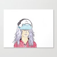 The Young Soul Canvas Print