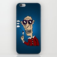 Groovy Hipster from Days of Yore iPhone & iPod Skin