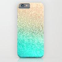 GOLD AQUA iPhone 6 Slim Case