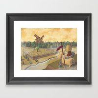 don chisciotte Framed Art Print
