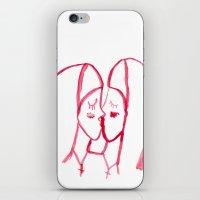 kissing nuns iPhone & iPod Skin