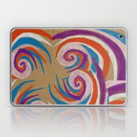Snoozy Spiral Laptop & iPad Skin