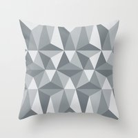 Nordic Combination 33 Throw Pillow