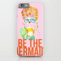 pink lemonade -- be the mermaid. iPhone 6 Slim Case