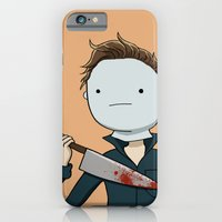 Adventure Time with Michael Myers iPhone 6 Slim Case