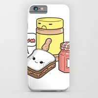 iPhone & iPod Case featuring Friends Go Better Together 7/7 - Bread, Peanut Butter and Jam by Steven Preisman