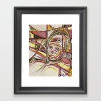 Soldado Gay Framed Art Print
