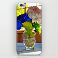 Light and flowers iPhone & iPod Skin