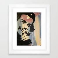 Che. Framed Art Print