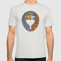 Atomos, The Indivisible Mens Fitted Tee Silver SMALL