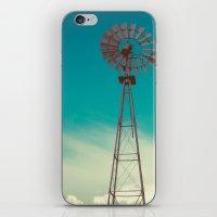 WINDMILL SKY  iPhone & iPod Skin