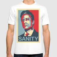 T-shirt featuring Jon Stewart - SANITY by Tim Clary