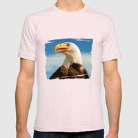 EAGLE EYED Mens Fitted Tee Light Pink SMALL