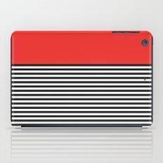 STRIPE COLORBLOCK {POPPY RED} iPad Case