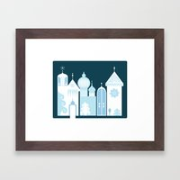 The Ice Castle Framed Art Print