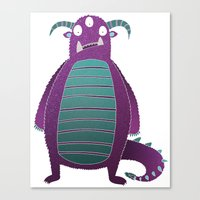 Marcus the Monster Canvas Print