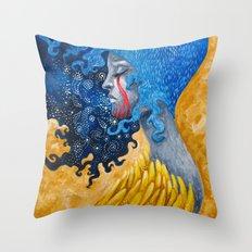 Dual State II Throw Pillow